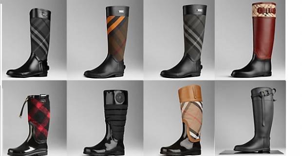 stivali da pioggia per uomo e donna